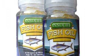 Innolife Fish Oil (Minyak Ikan Kod) Menurunkan Kadar Kolesterol, Menjaga Kesehatan Jantung, & sangat baik untuk Ibu Hamil