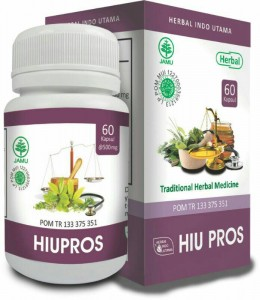 Hiu Pros obat herbal untuk kesehatan prostat