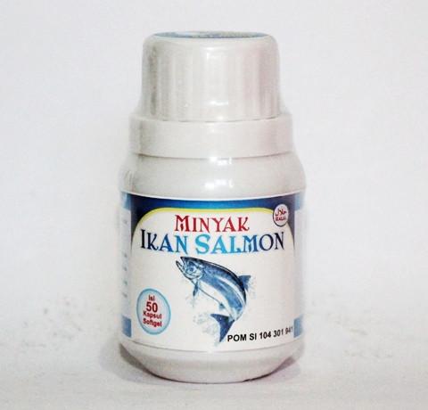 Minyak Ikan Salmon Kapsul Softgel